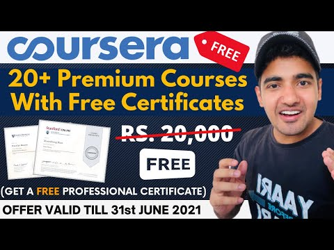 20+ Coursera Free Courses With Free Certificate | Courses by ...
