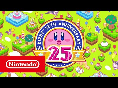 Kirby 25th Anniversary – Trailer