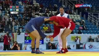 Sambo PAPOU (BLR) - KHOJAZODA (TJK) World Champioships 2017