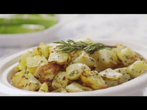 Video Healthy Recipes - How to Make Oven Roasted Potatoes