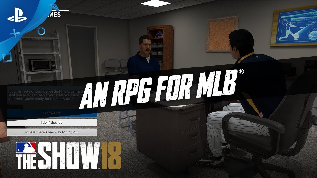 What's New in MLB The Show 18's RPG Mode, Road to The Show