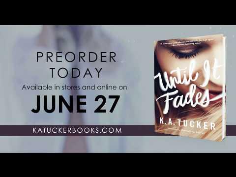 Until it Fades Book Trailer