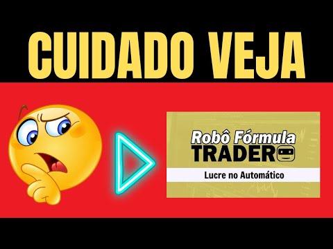 Rob frmula trader  Confivel ?  Rob da bolsa de valores . Clear Corretora