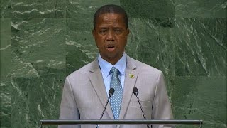 🇿🇲 Zambia – President Addresses General Debate, 73rd Session