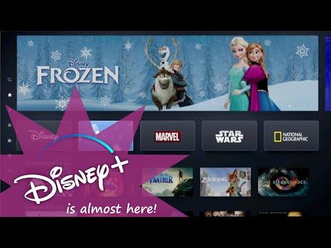 Disney+ app preview (Watch out Netflix!)