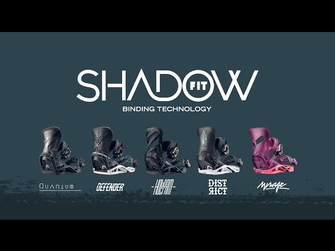 Salomon Sideways Science – ShawdowFit Technology – Snowboard Bindings