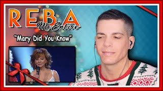 "Reba McEntire Reaction | ""Mary Did You Know"" w/ Little Big Town"