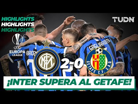 Highlights | Inter Milan 2-0 Getafe | Europa League 2020 – Octavos final | TUDN