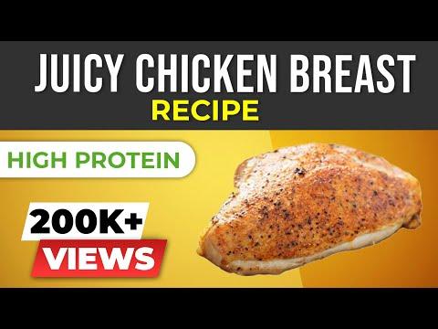 Healthy chicken recipe - How to cook juicy chicken breast
