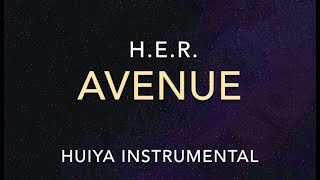 [Instrumental/karaoke] H.E.R. - Avenue [+Lyrics]