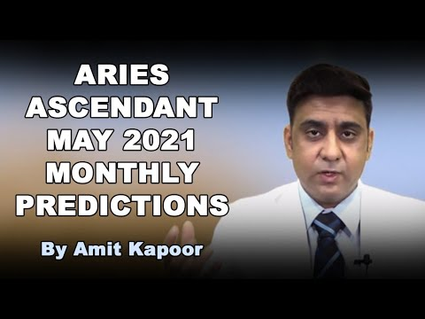 ARIES ASCENDANT MAY 2021 MONTHLY PREDICTIONS { IN ENG & HINDI } BY #AMITKAPOOR