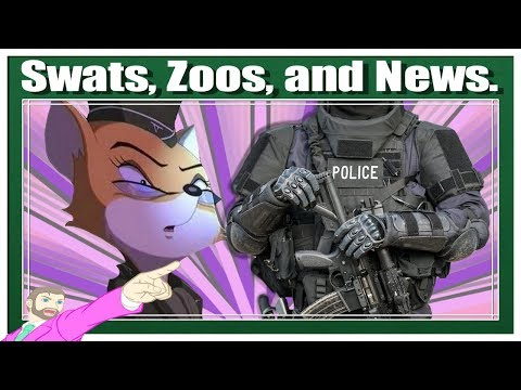 It's a Legal Round Up - SWATting of Peter Simeti, Zoosadist Charged, Other Law News!