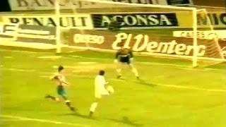 Albacete 3 - Atl. Madrid 1. Temp 91/92. Jor. 19.