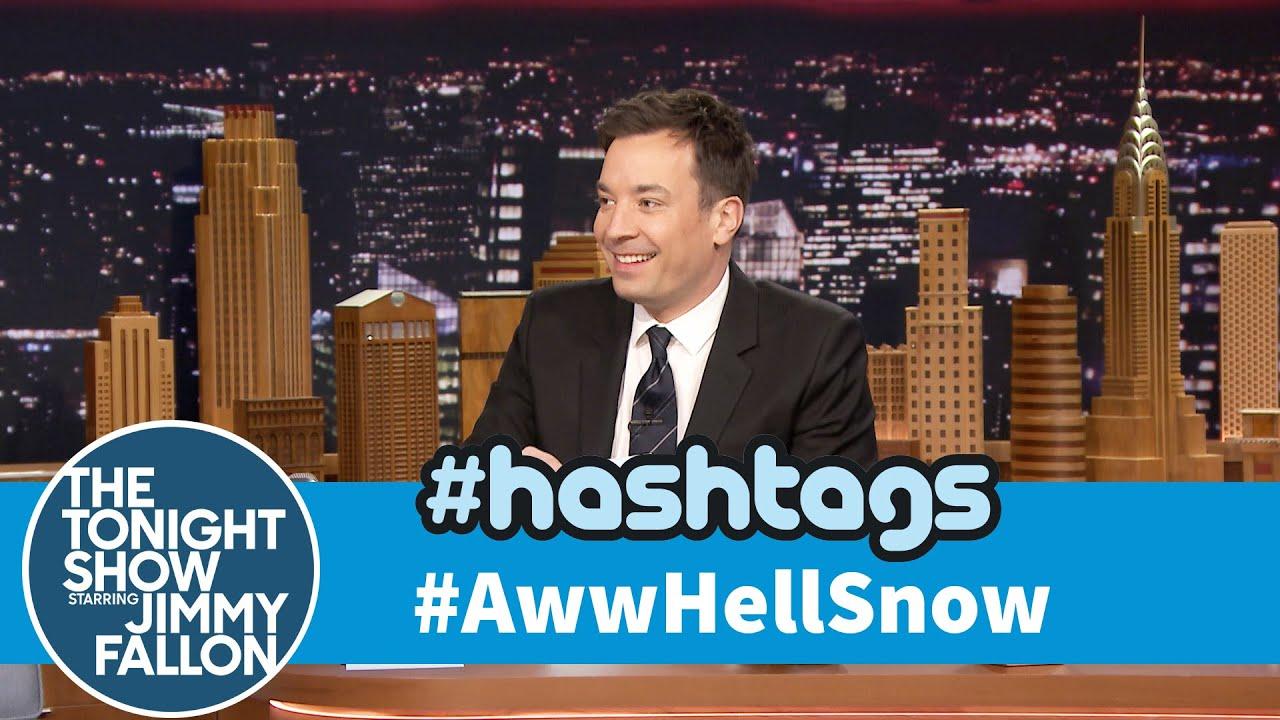 Hashtags: #AwwHellSnow thumbnail