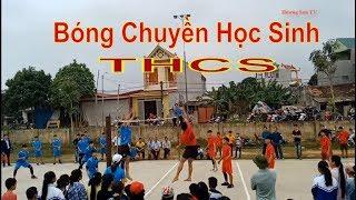 Bóng chuyền học sinh THCS huyện Thach Thành |  Thạch Đồng vs Thạch Sơn