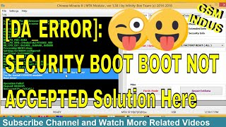 securityboot_boot_not_accepted boot error - मुफ्त ऑनलाइन