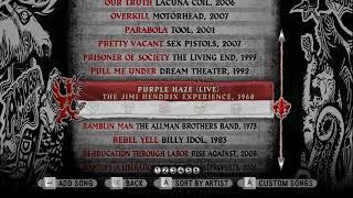 Guitar Hero: World Tour Song List (All SONGS). Все песни Guitar Hero: World Tour.