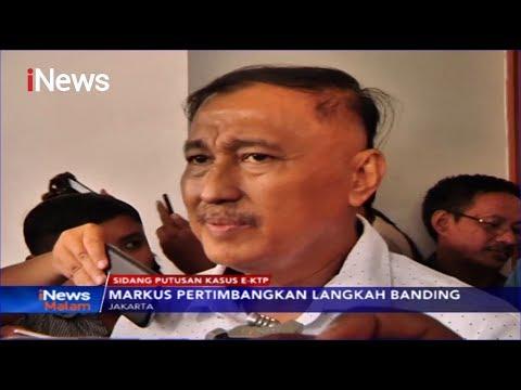 Markus Nari Divonis 6 Tahun Penjara Terkait Kasus Korupsi e-KTP - iNews Malam 11/11