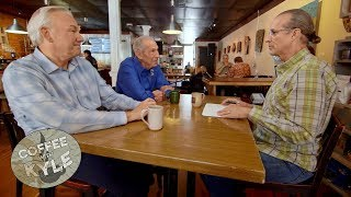 Dale and Ned Jarrett share incredible racing stories with Kyle Petty (Part 1)   Coffee with Kyle