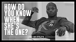 Is A Woman There For The Money or Is She The One? | I AM ATHLETE with Brandon Marshall & More