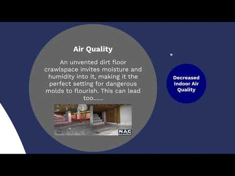 Watch this video for a presentation about what crawlspace waterproofing is and why it is necessary!