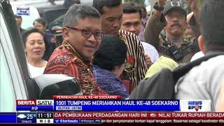 1001 Tumpeng Meriahkan Haul Ke 48 Presiden Soekarno