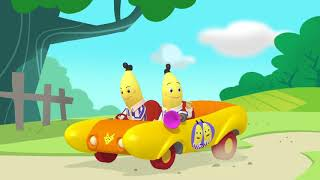 The Banana Buggy - Bananas In Pyjamas Full Episode - Puddle Jumper Children's Animation