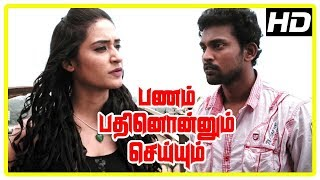 Panam Pathinonnum Seyyum Scenes | Alisha reveals her plan to steal the money | Bharani