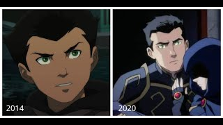 Damian Wayne Throughout The Years (Son Of Batman - Justice League Dark: Apokolips War)