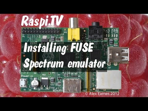 How to install Fuse ZX Spectrum emulator on raspberry pi
