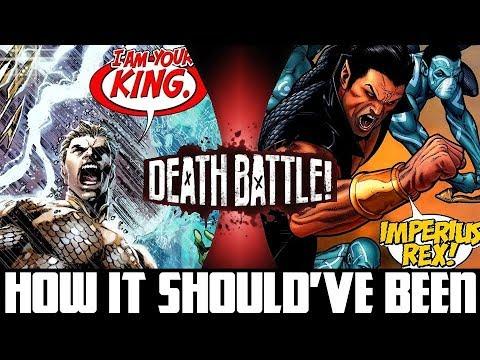 How Aquaman VS Namor (DEATH BATTLE!) Should've Been