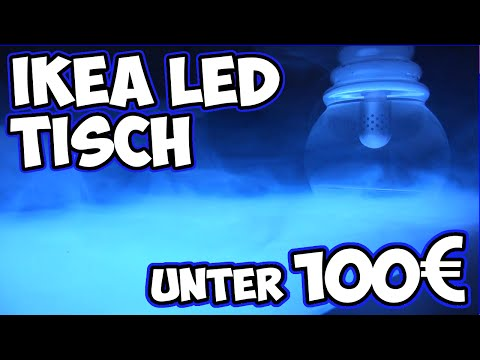 Hookah Trip (Tag 11) IKEA LED TISCH Do it Yourself TUTORIAL   PaulOo's World™