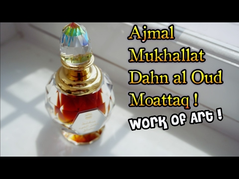 Ajmal Mukhallat Dahn Al Oud Moattaq | Luxurious Oriental fragrance