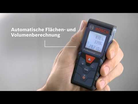 Laser Entfernungsmesser Quadratmeter : Bosch laser entfernungsmesser glm 40 professional messen