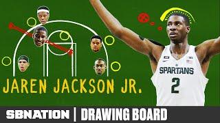 Michigan State's Jaren Jackson Jr. is everywhere on defense thumbnail