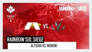 Canada Division 2020 Play Day 5 - Altiora vs. Nordik