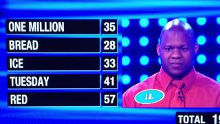 Family Feud 1st Contestant gets 194  points! AWESOME!