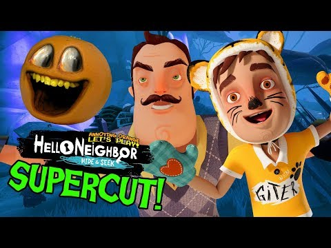 Hello Neighbor: Hide and Seek (Full Game Playthrough Supercut)