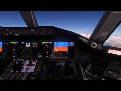 P3Dv4 4 QualityWings Boeing 787 TUI Innsbruck (LOWI) To Dubrovnik