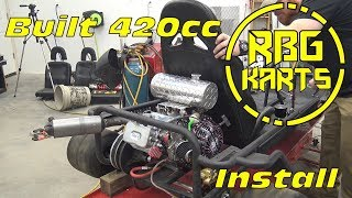 420cc Predator Stage 2 Engine Build ~ Billet Rod, Billet