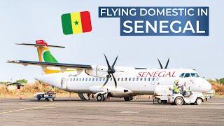 TRIPREPORT | Air Senegal (ECONOMY) | ATR 72-600 | Ziguinchor - Dakar