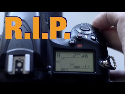 How I killed my Nikon D810