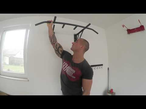 Ich teste die HOLDSTRONG Fitness Klimmzugstange - 2