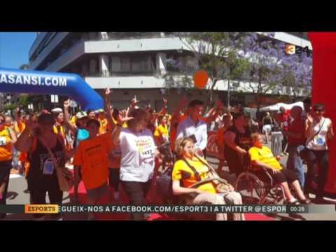 Vídeo de tv3 Presentació  TV3 2a Cursa Correos Express Sant Adrià de Besós (23/05/17)