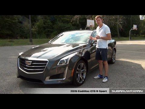 Фото к видео: 2015 Cadillac CTS V-Sport