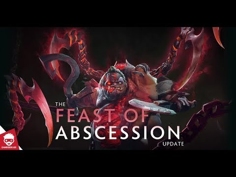 Dota 2 Pudge - New Arcana Feast Abcession First Look (New Update) 1070P