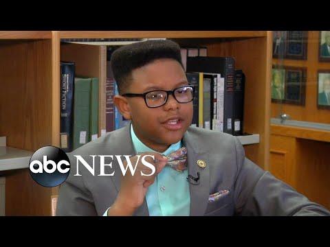 11 year old starts college at HBCU