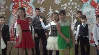 Новогоднее выступление для школьников 3 класс