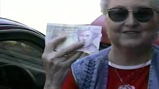 Jean Holds 20 Pound Note