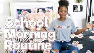 School Morning Routine 2018   GRWM Vlog | LexiVee03